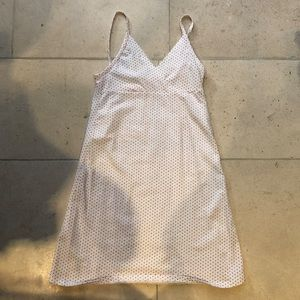 Brandy Melville White & Red Polka Dot Mini Dress